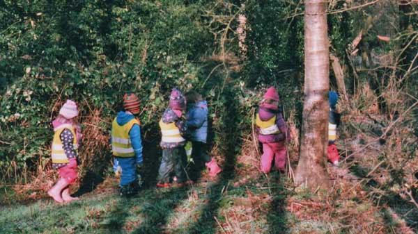 children-in-woods