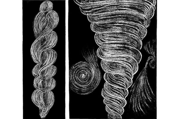 Illustration of Vortices from Oahspe (6.)