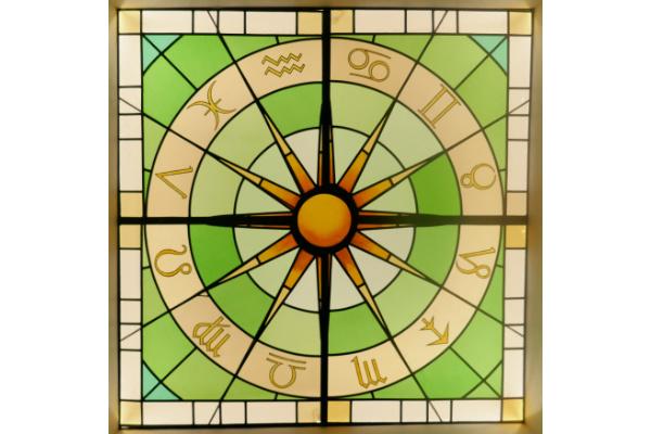 The Zodiac in the Kosmon Sanctum ceiling